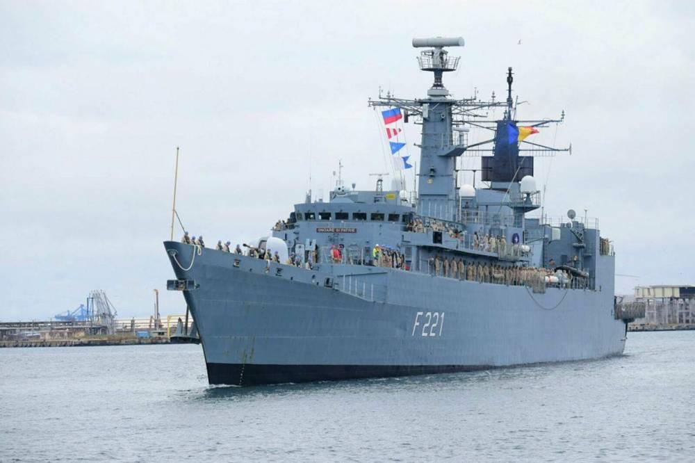 """Fregata """"Regele Ferdinand"""" se întoarce acasă după o operațiune NATO"""