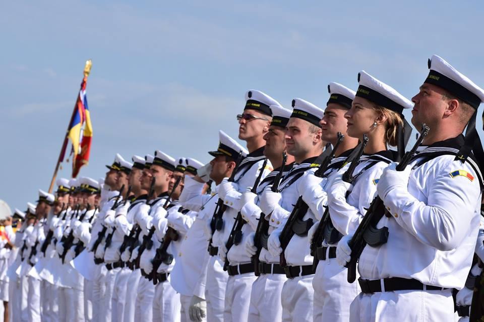 BOBOCII Forțelor Navale Române depun JURĂMÂNTUL MILITAR