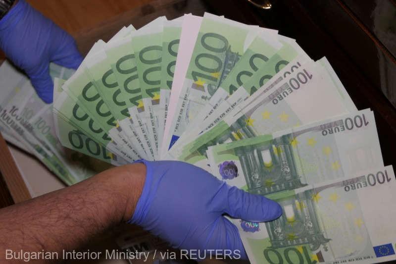 Autorităţile bulgare au confiscat 11 milioane de euro falşi în bancnote tipărite cu o tehnologie foarte performantă