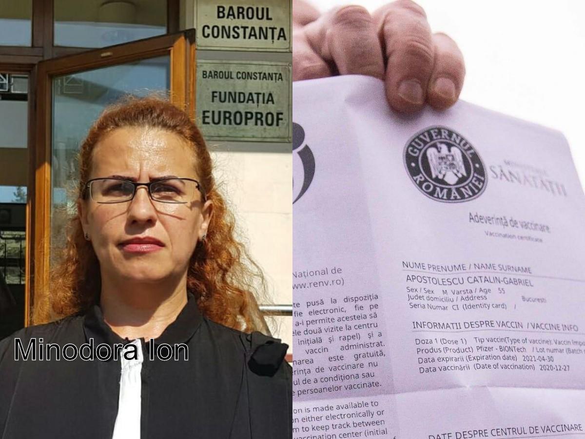 AV. Minodora Ion, despre INTERZICEREA participării părinților nevaccinați la SERBĂRI